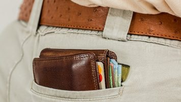 pánská peněženka, dárek ke dni otců, dárky pro muže