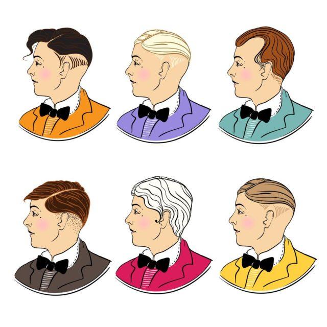 účesy 20. let muži