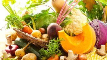Podzimní superpotraviny, dýně, řepa, květák
