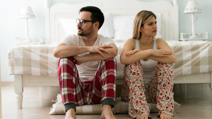 Nebaví mě spát s manželem