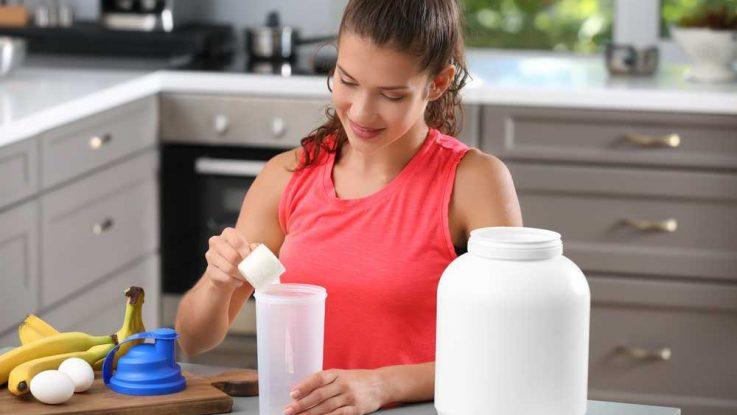 Protein v prášku na hubnutí