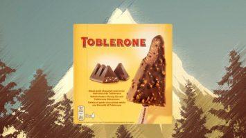 Zmrzlina toblerone