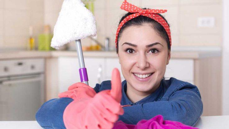 Chyby při úklidu domácnosti