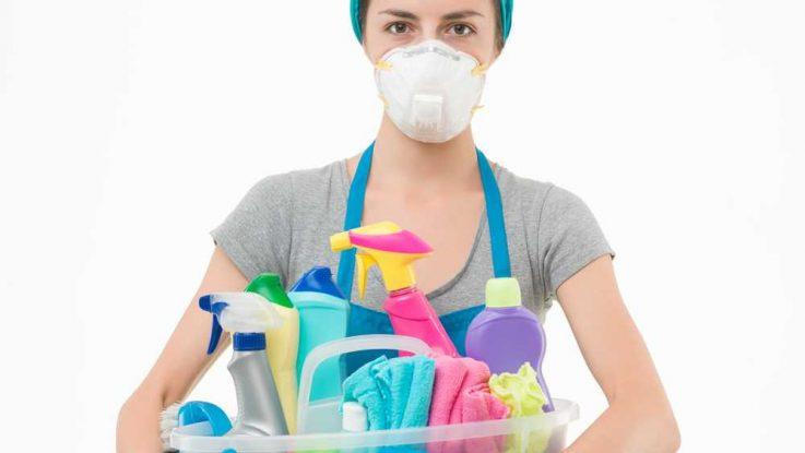 Dýchání čisticích prostředků je škodlivé