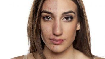 Velké množství make-upu, nekvalitní make-up