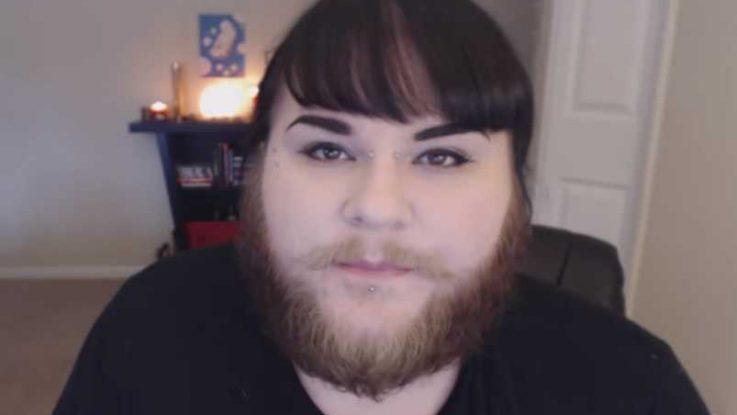 Módní vlogerka s vousy, ženy s vousy