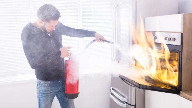 Jak se chovat při požáru