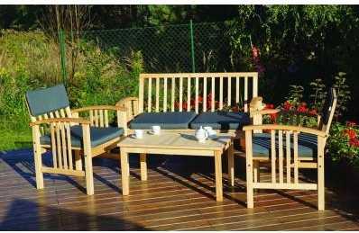 Zahradní dřevěný nábytek