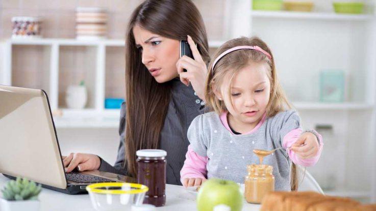 Rodiny na sebe nemají čas, ženská kariéra