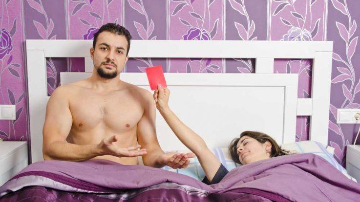 Co ženy v posteli naštve