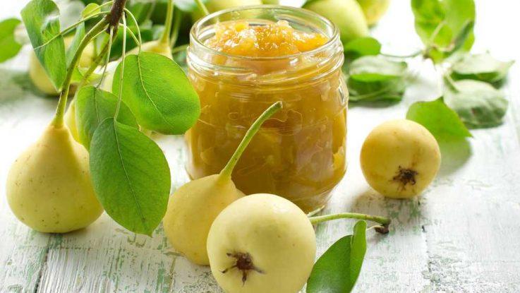 Recept na hruškovou marmeládu