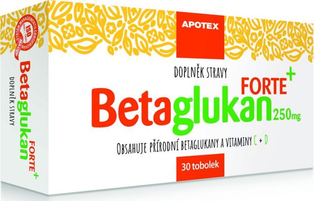 Doplněk stravy Betaglukan Forte