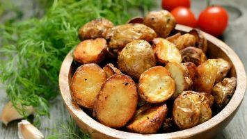 Jak upéct brambory v troubě