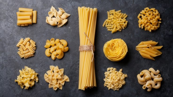 Kvalitní těstoviny, vaječné nebo bezvaječné