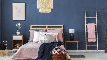 Jak vymalovat ložnici, vyzařování barev