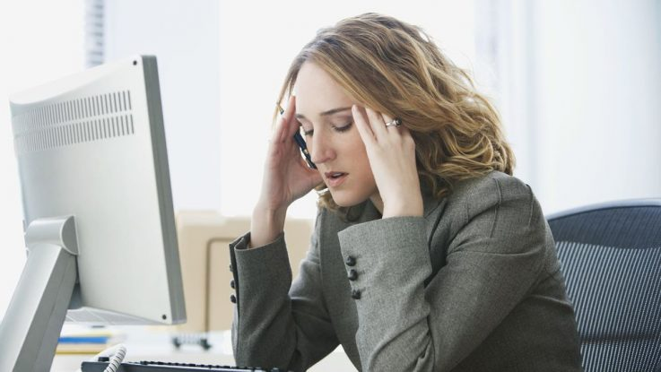 nespavost a stres v práci