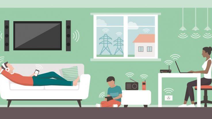 Elektromagnetické vlnění v domácnosti
