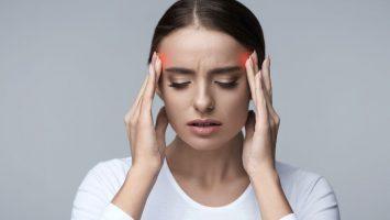 Na bolest hlavy s pomocí jógy