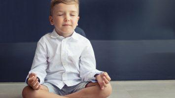 Všímavost u dětí mindfulness
