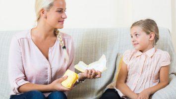 První menstruace dcery
