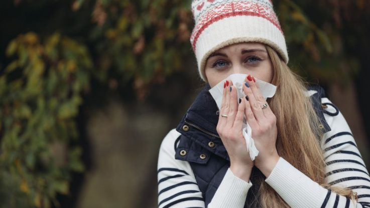 Zimní alergie