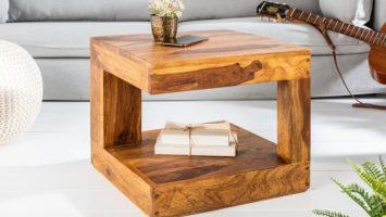 Konferenční stolek z masivu