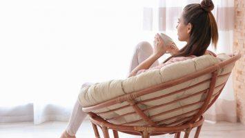 Čajový koutek, relaxační koutek