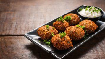 Recepty na falafel