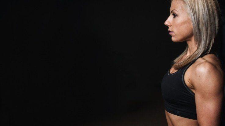 Sportovní podprsenka na cvičení doma