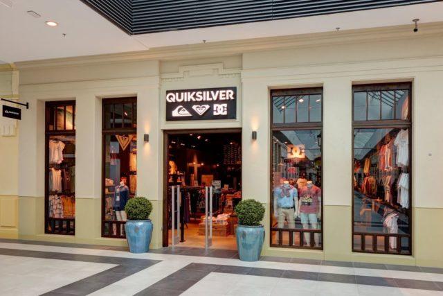 Quiksilver prodejna