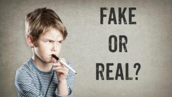 Kritické myšlení u dětí a fake news