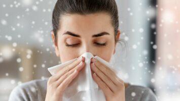 Alergie v zimě, alergie na chlad