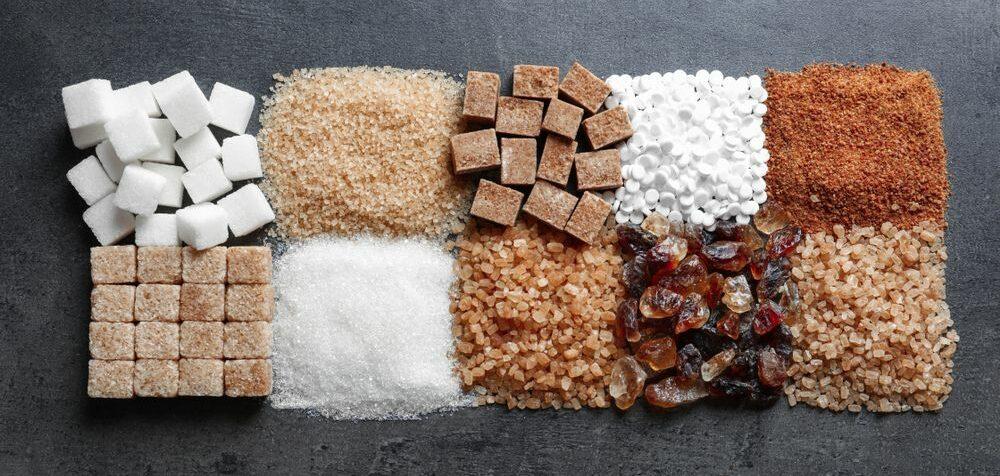 Cukr a jiná sladidla jako náhrada
