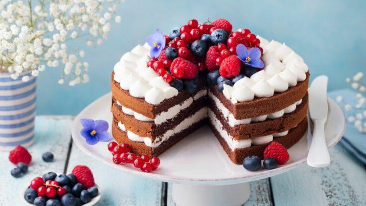 Nahý dort
