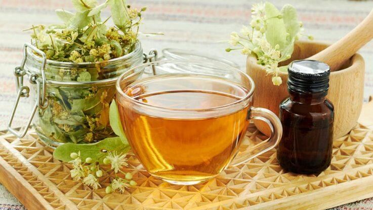 čaj z lipových květů, lipový čaj