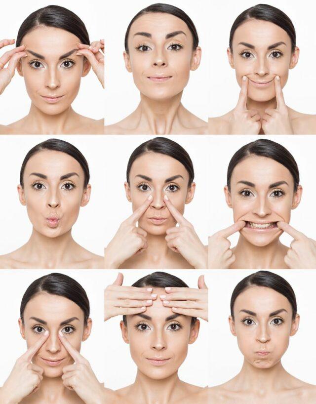 Obličejová jóga cviky