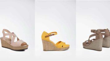 Sandály na klínku