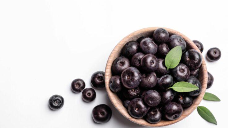 exotické ovoce acai
