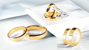 Snubní a zásnubní prsten