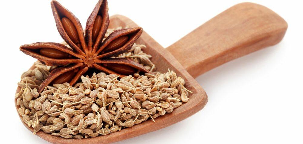 Semena anýzu a badyánu
