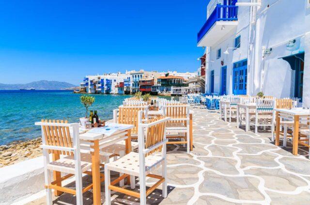 Dovolená Řecko Mykonos