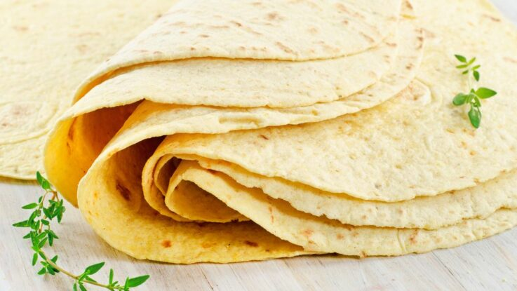 Mexická tortilla