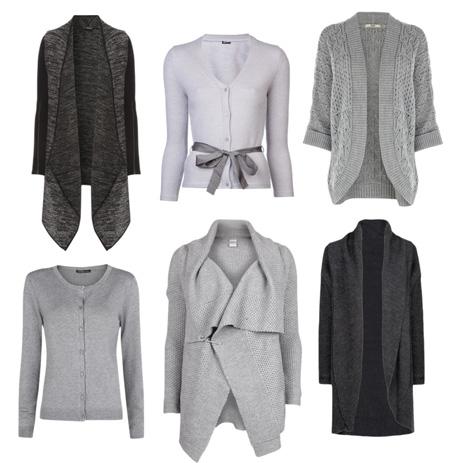 Módní trendy 2013  jak nosit šedý svetr a s čím ho kombinovat ... 3a4def39d6